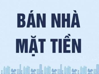 Bán nhà mặt tiền đường Nguyễn Tất Thành, P.13, Q.4, Dt 8,09m x 28,39m, nở hậu 8,28m