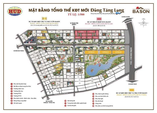 Dự án Ba Son Đông Tăng Long Hưng Phúc Quận 9