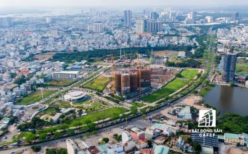 Đòn bẩy hạ tầng kích thị trường nhà đất khu Nam TP.HCM vượt mặt khu Đông?