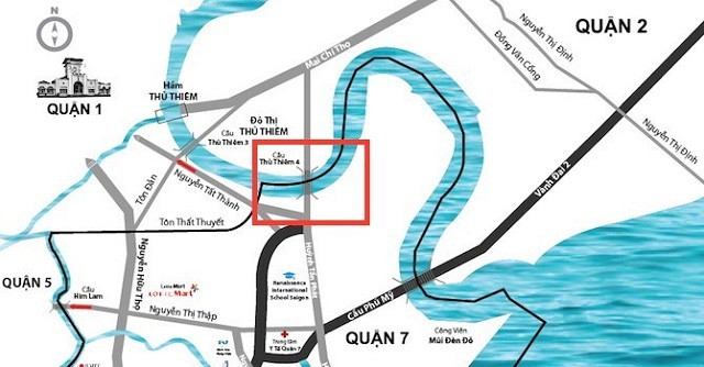 Cây cầu thứ 4 vượt sông Sài Gòn sang Thủ Thiêm khoảng 5.200 tỷ, thiết kế theo ý tưởng