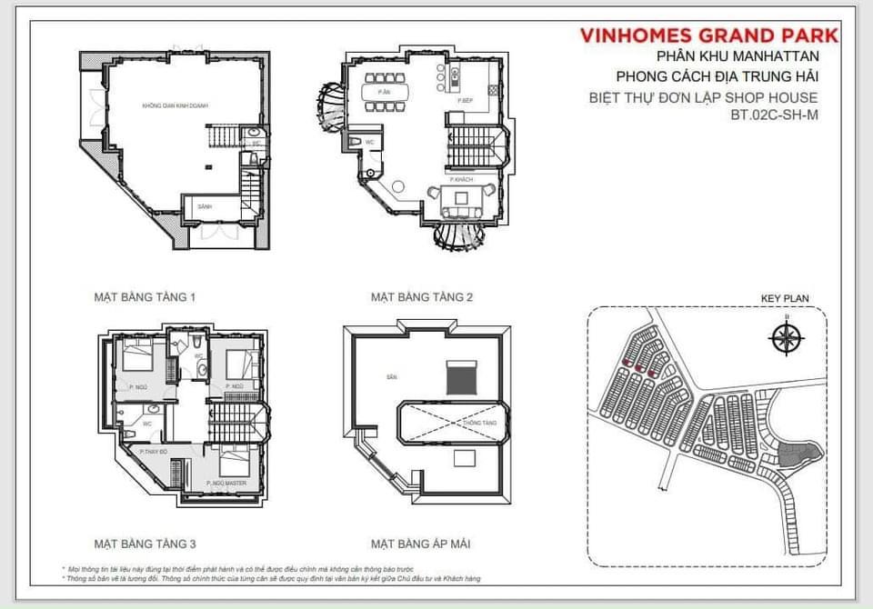 Bán SHOP VILLA T3-09 Vinhomes Manhattan Quận 9. Hướng cửa chính Tây Nam - Tây Bắc. Dt 15m x  15.5m hinh3